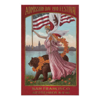 San Francisco Festival of 1910 Poster