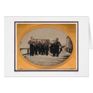 San Francisco Fire Brigade on Meiggs Wharf (40090) Card