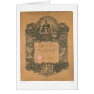San Francisco Fire Department Certificate (1481A) Card
