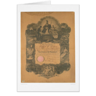 San Francisco Fire Department Certificate (1481A) Greeting Card