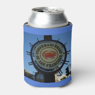 San Francisco Fishermans Wharf Can Cooler