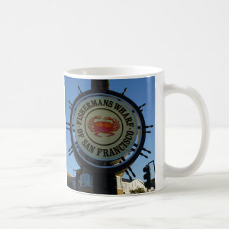 San Francisco Fishermans Wharf Mug
