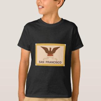 San Francisco Flag - Retro T-Shirt