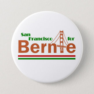 San Francisco for Bernie 7.5 Cm Round Badge