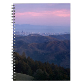 San Francisco from Mount Tam Notebook