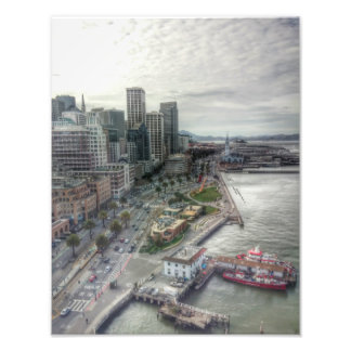 San Francisco from the Golden Gate Bridge Photo Print
