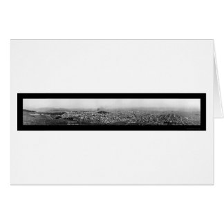 San Francisco from Twin Peaks Photo Greeting Card