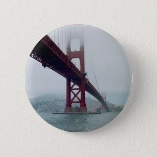 San Francisco Golden Gate Bridge 6 Cm Round Badge