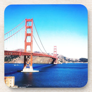 San Francisco Golden Gate Bridge California Coaster