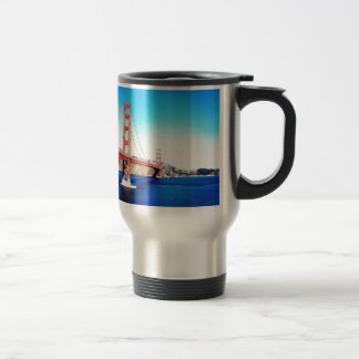 San Francisco Golden Gate Bridge California Travel Mug