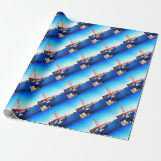 San Francisco Golden Gate Bridge California Wrapping Paper