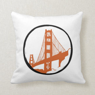 San Francisco Golden Gate Bridge Cushion
