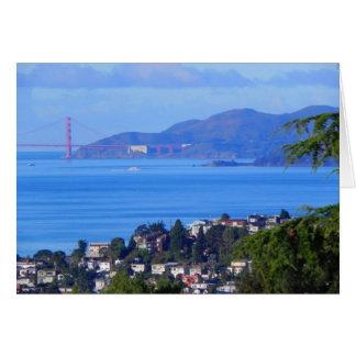 San Francisco Golden Gate Bridge Day on the Bay Card