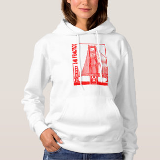 San Francisco-Golden Gate Bridge Hoodie