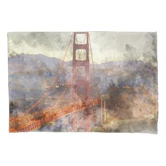 San Francisco Golden Gate Bridge in California Pillowcase