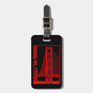 San Francisco-Golden Gate Bridge Luggage Tag