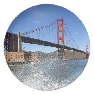San Francisco Golden Gate Bridge Plate