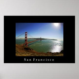 San Francisco Golden Gate Bridge Poster