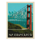 San Francisco   Golden Gate Bridge Skyline Postcard