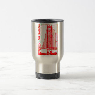 San Francisco-Golden Gate Bridge Travel Mug