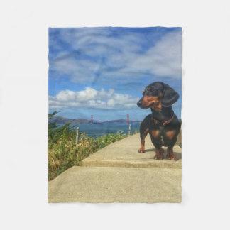 San Francisco Golden Gate Fleece Blanket