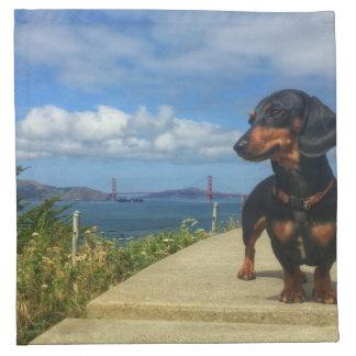 San Francisco Golden Gate Napkin