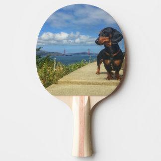 San Francisco Golden Gate Ping Pong Paddle