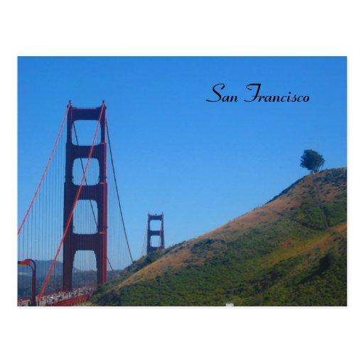 san francisco golden gate postcards