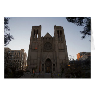 San Francisco Grace Cathedral Card