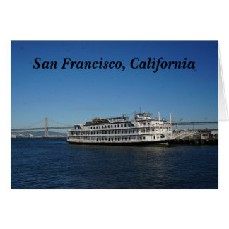 San Francisco Hornblower Cruise #2 Card