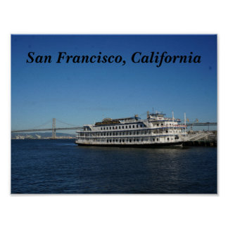 San Francisco Hornblower Cruise #2 Poster