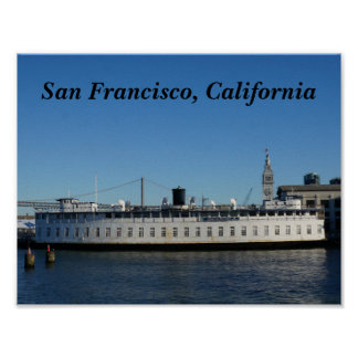 San Francisco Hornblower Cruise Poster