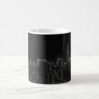 San Francisco Inverted Skyline Coffee Mug
