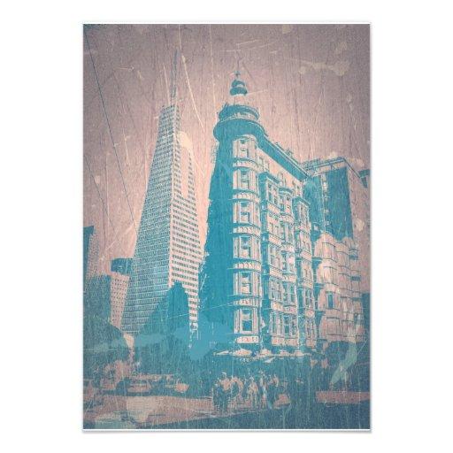 San Francisco Custom Invitations