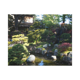 San Francisco Japanese Tea Garden #2 Canvas Canvas Print