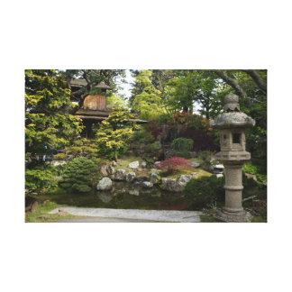 San Francisco Japanese Tea Garden #3 Canvas