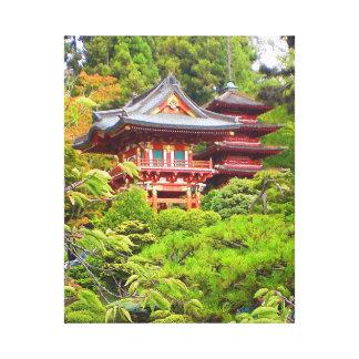 San Francisco Japanese Tea Garden #7 Canvas