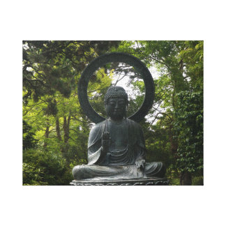 San Francisco Japanese Tea Garden Buddha Canvas Canvas Print