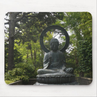 San Francisco Japanese Tea Garden Buddha Mousepad