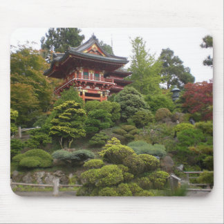 San Francisco Japanese Tea Garden Mousepad