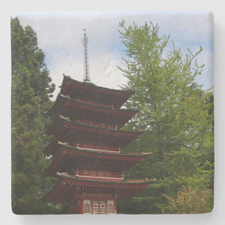San Francisco Japanese Tea Garden Pagoda Coaster