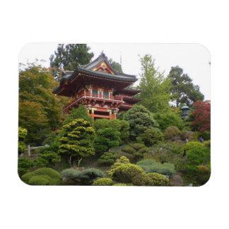 San Francisco Japanese Tea Garden Photo Magnet