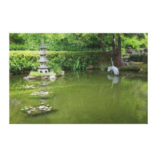 San Francisco Japanese Tea Garden Pond #2 Canvas