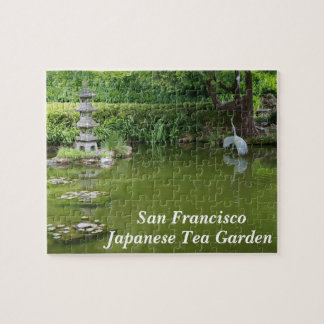 San Francisco Japanese Tea Garden Pond #2 Puzzle