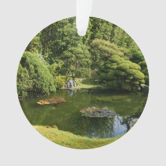 San Francisco Japanese Tea Garden Pond #3 Ornament