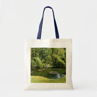 San Francisco Japanese Tea Garden Pond #3 Tote Bag