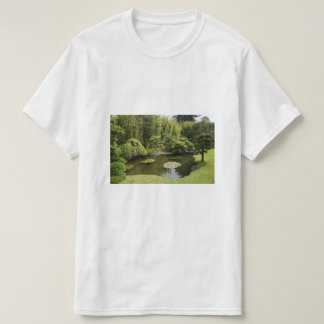 San Francisco Japanese Tea Garden Pond T-shirt