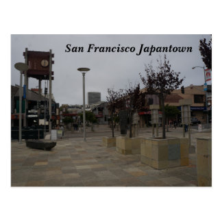 San Francisco Japantown Osaka Way #2 Postcard