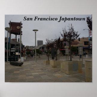 San Francisco Japantown Osaka Way #2 Poster