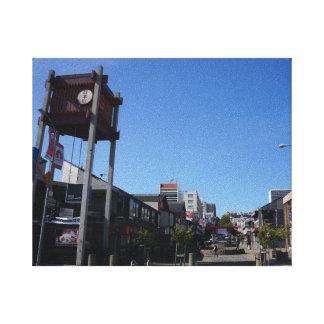 San Francisco Japantown Osaka Way Canvas